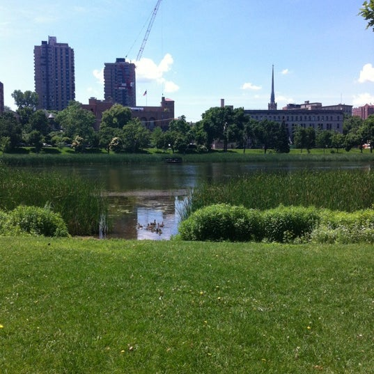 Photo taken at Loring Park by Heidi W. on 6/5/2012