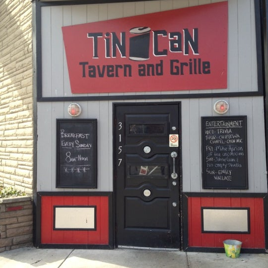 Photo taken at Tin Can Tavern & Grille - Morganford Road by Rebecca B. on 2/18/2012