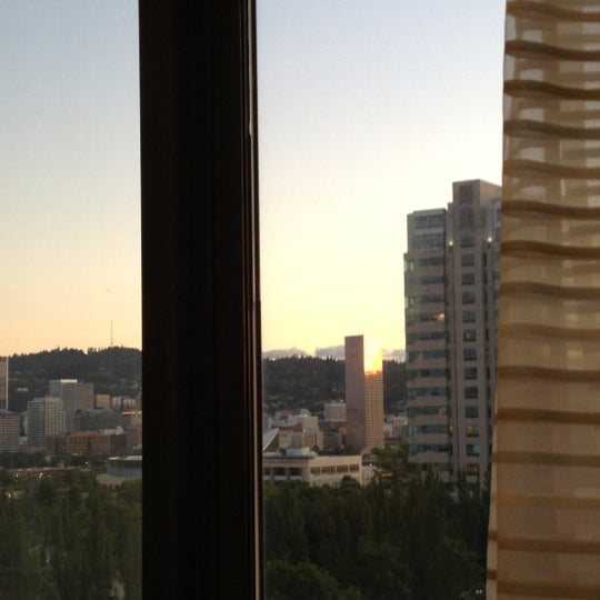 Photo taken at DoubleTree by Hilton Hotel Portland by Susan S. on 6/20/2012
