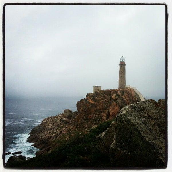 Photo taken at Faro de Cabo Vilán by Alex H. on 8/18/2012