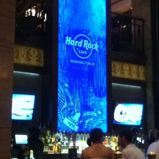 Photo taken at Hard Rock Cafe Washington DC by Scott P. on 9/1/2012