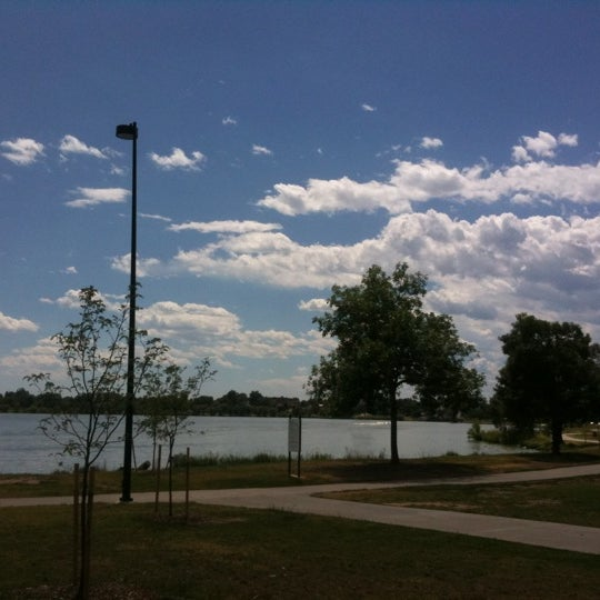 Photo taken at Sloan's Lake Park by Jeff T. on 8/11/2011