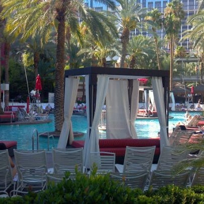 Photo taken at Flamingo GO Pool by Michael S. on 8/23/2011