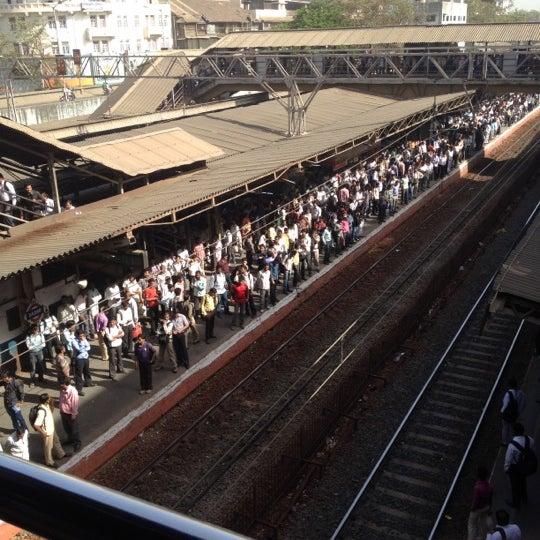 Photo taken at Dadar Railway Station by Jay R. on 3/14/2012