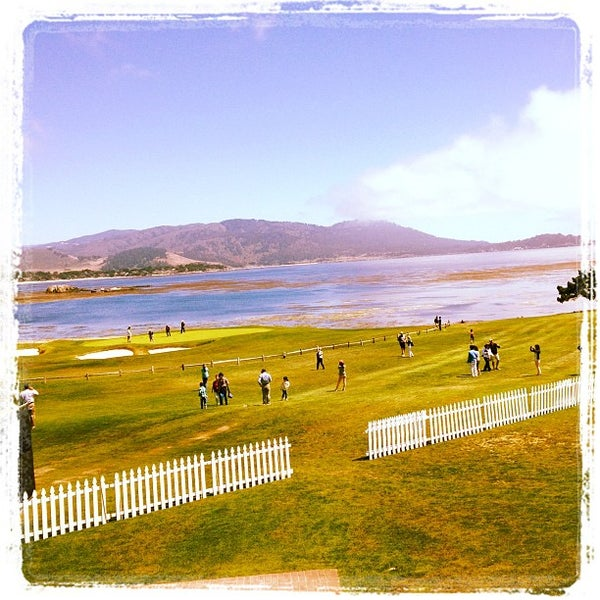 Photo taken at The Lodge at Pebble Beach by Strumpet101 on 6/28/2012