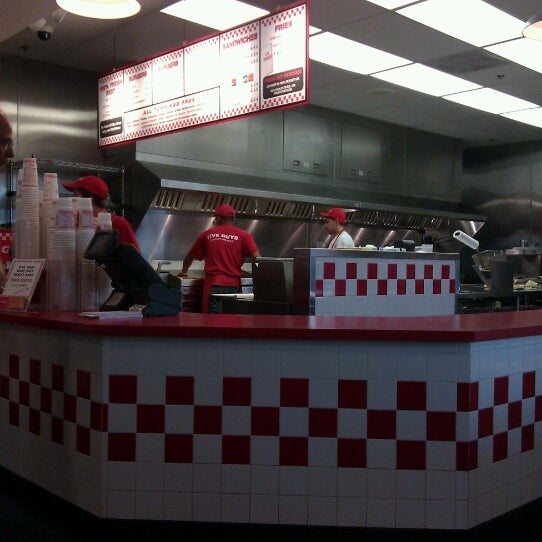 Photo taken at Five Guys by Patrick M. on 7/9/2012
