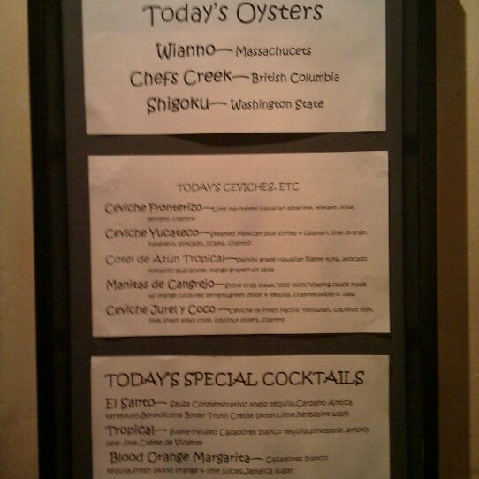 Photo taken at Frontera Grill by Chad S. on 2/1/2012