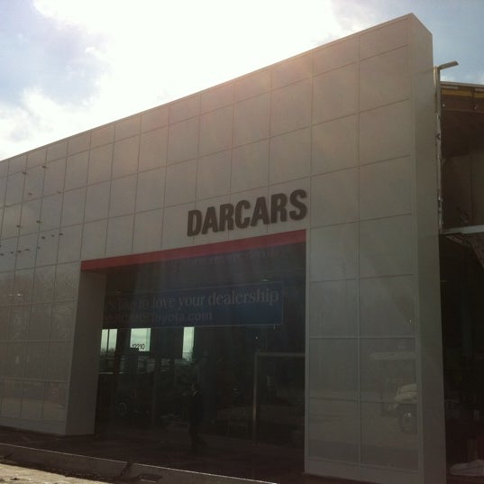 Photo Taken At DARCARS Toyota Silver Spring By Ethan R. On 3/16/