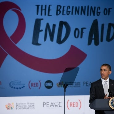 President Obama announced that he is directing $50 million in increased funding for domestic HIV/AIDS treatment and care.