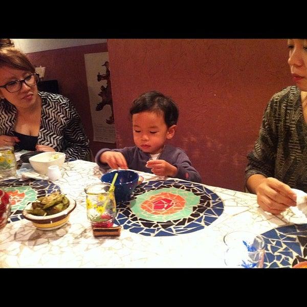 Photo taken at tamutamucafe by Kunio A. on 10/25/2011