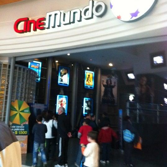 Photo taken at Cine Hoyts by Rodrigo M. on 2/17/2012