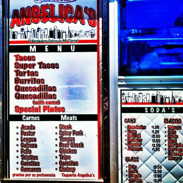 Photo taken at Angelica's Taqueria Taco Truck by David G. on 7/26/2012