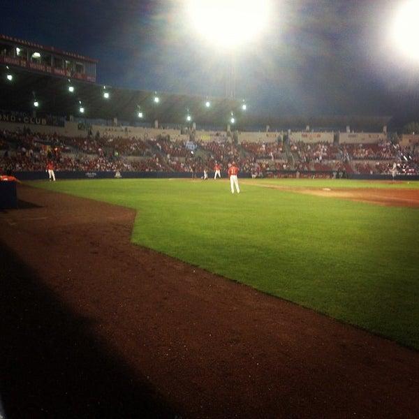 Das Foto wurde bei Spokane Indians Diamond Club von Jonnie F. am 8/6/2012 aufgenommen