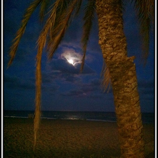 Photo taken at Platja de Calafell by Jordi T. on 7/2/2012