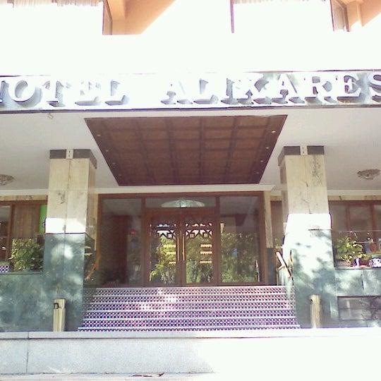 Photo taken at Hotel Alixares by Masahiko on 6/14/2012
