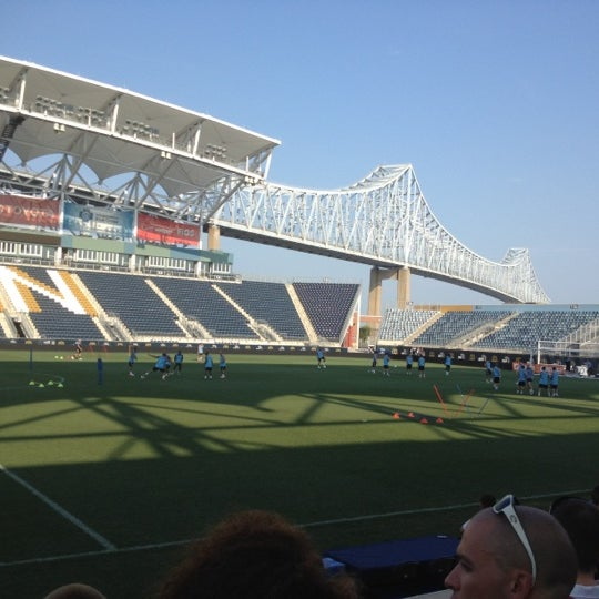 Photo taken at Talen Energy Stadium by Jessica H. on 7/17/2012