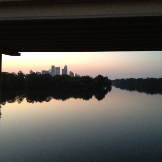 Photo taken at Lady Bird Lake Trail by Marilyn M. on 6/24/2012
