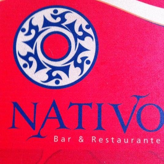 Foto scattata a Nativo Bar e Restaurante da Neto P. il 4/21/2012