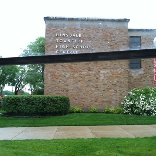 Photo taken at Hinsdale Central High School by Michael on 5/10/2012