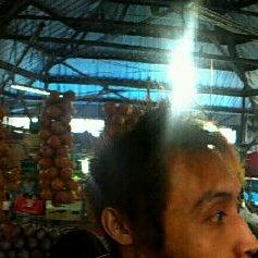Photo taken at Pasar kaget berastagi by Theodora Y. on 8/20/2012