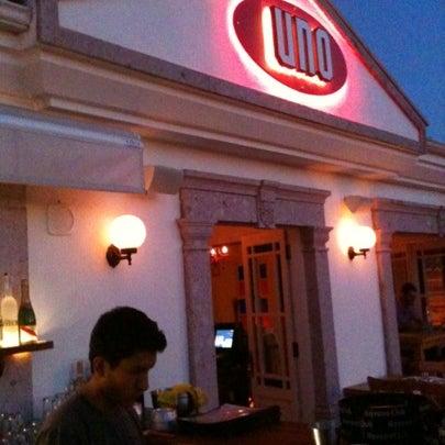 8/22/2012 tarihinde Zeynep K.ziyaretçi tarafından Uno Restaurant'de çekilen fotoğraf