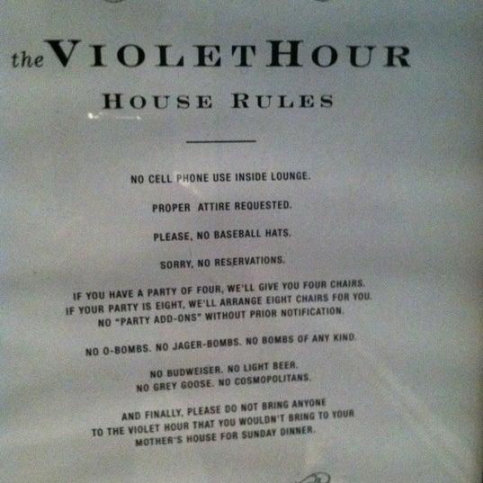 Foto scattata a The Violet Hour da Jeremy J. L. il 7/8/2012