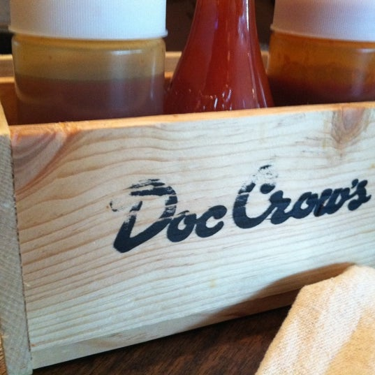 Photo taken at Doc Crow's Southern Smokehouse & Raw Bar by Lorraine C. on 6/15/2011