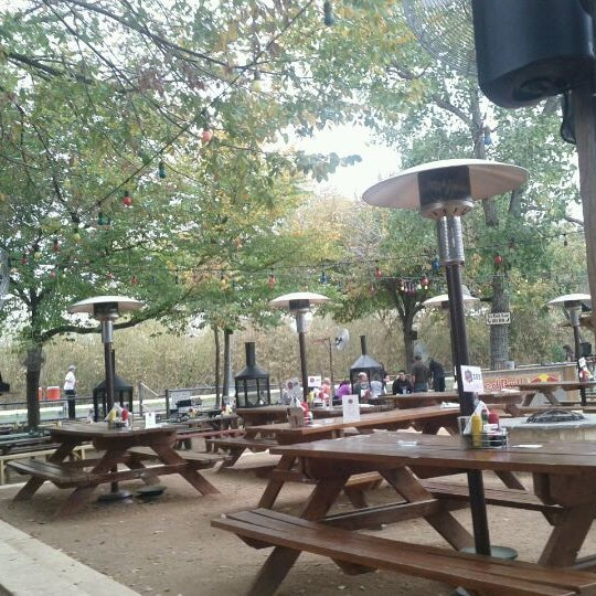 Photo taken at Katy Trail Ice House by James E. on 11/19/2011
