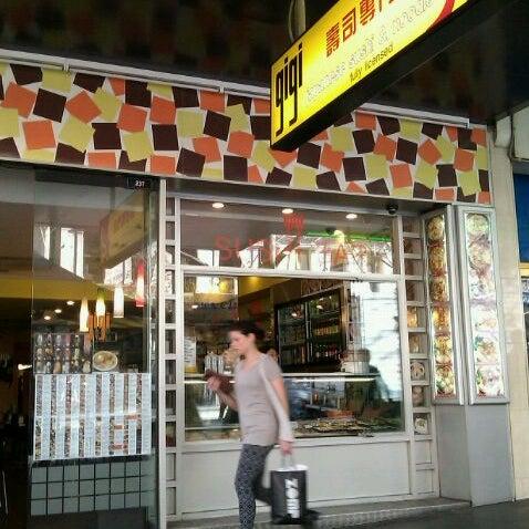 Photo taken at Gigi Sushi Bar by frank y. on 8/24/2011