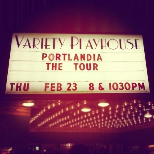 2/25/2012 tarihinde Rachel L.ziyaretçi tarafından Variety Playhouse'de çekilen fotoğraf