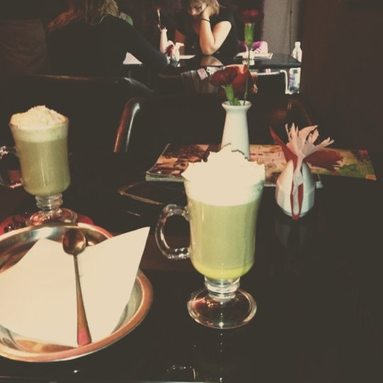 Photo taken at Choco Cafe by Majka on 8/12/2012