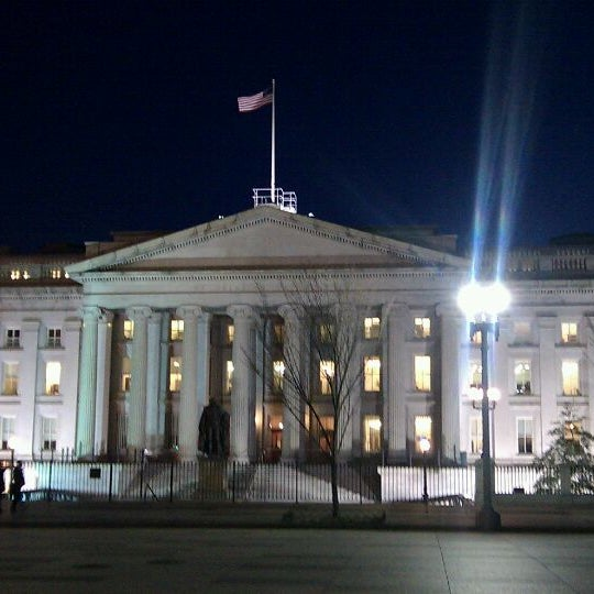 Photo taken at US Department of the Treasury by Lisa L. on 2/15/2012