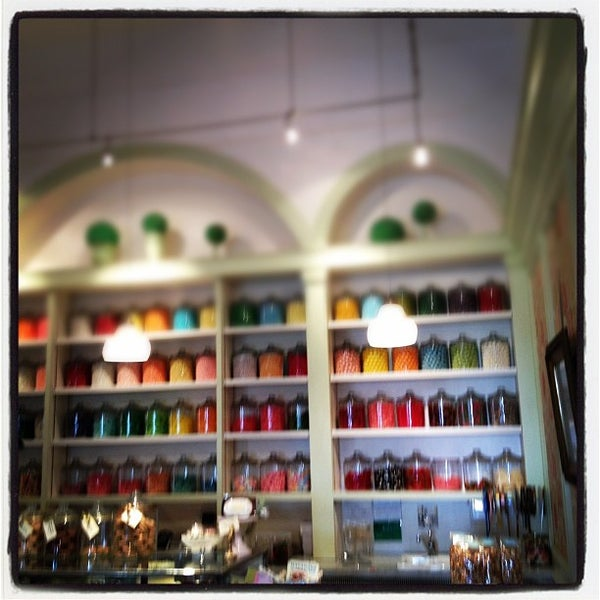 Photo taken at Miette Patisserie by Kirk W. on 10/16/2011