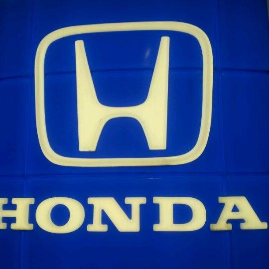 Photo Taken At Markley Honda By Justin M. On 8/11/2012
