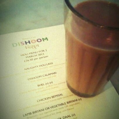 Photo taken at Dishoom by Pooja V. on 3/3/2012