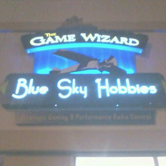photos at game wizard and blue sky hobbies arts entertainment