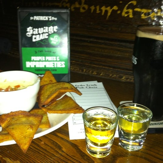 Photo taken at Fado Irish Pub & Restaurant by J H. on 3/15/2011