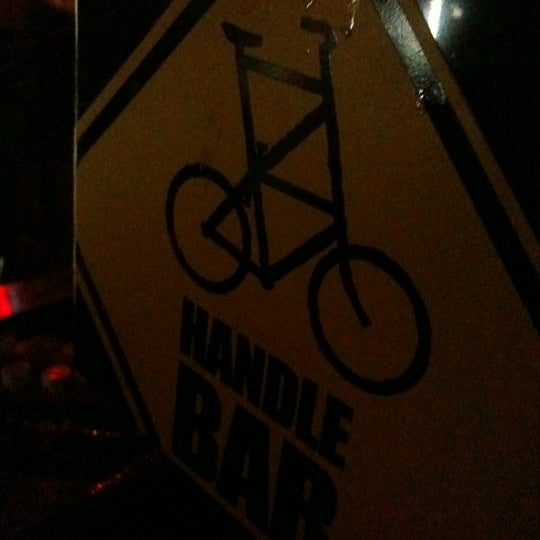 Photo taken at HandleBar by Alexis F. on 1/9/2011