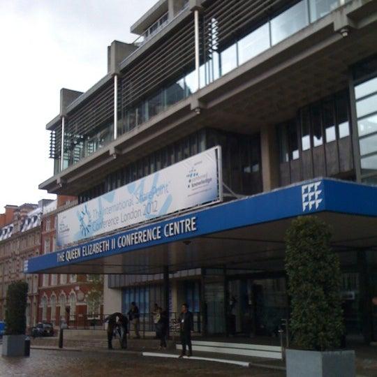 Photo taken at Queen Elizabeth II Conference Centre by techChirag on 4/23/2012