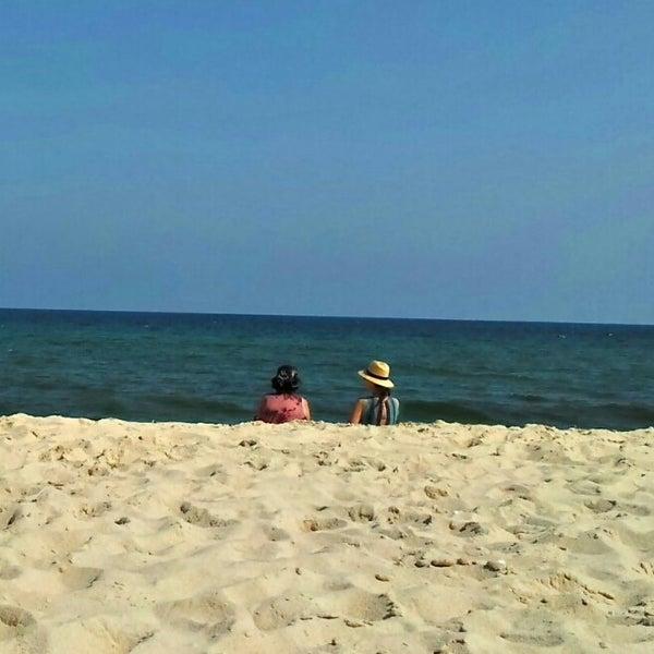 Photo taken at Praia do Barril by D. L. on 7/26/2012