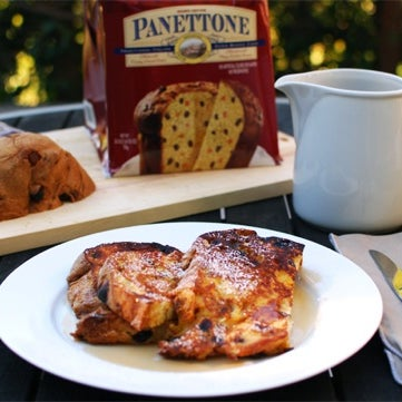 Be sure to get a Panettone while they are still around! This seasonal Italian favorite makes amazing French toast. Get the recipe and on kitchenkonfidence.com.