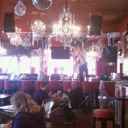 Photo taken at Nick's Crispy Tacos by erik e. on 10/24/2011