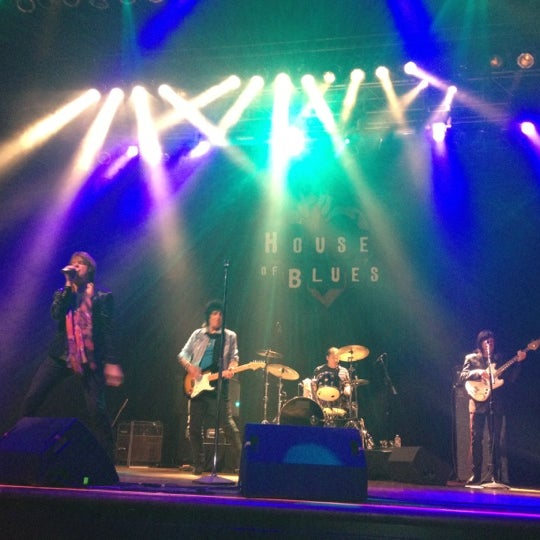 Foto scattata a House of Blues da Aliesha il 3/21/2012