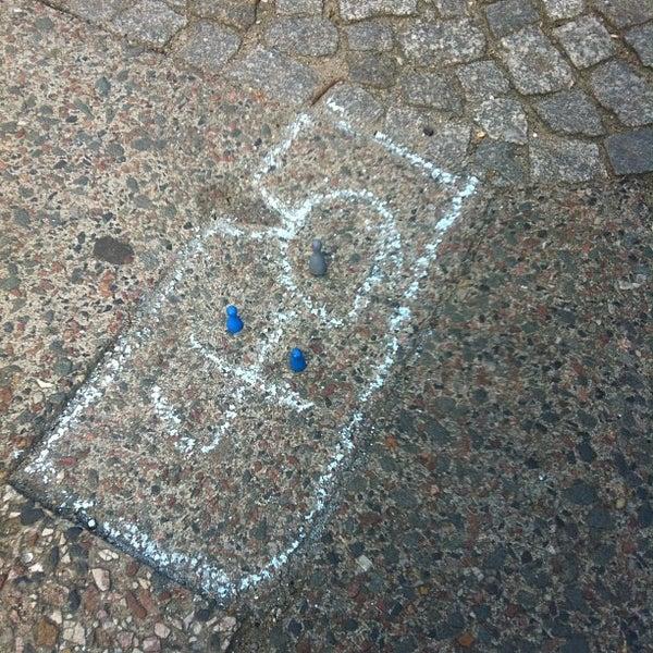 Photo taken at U Weberwiese by Alper Ç. on 8/9/2012