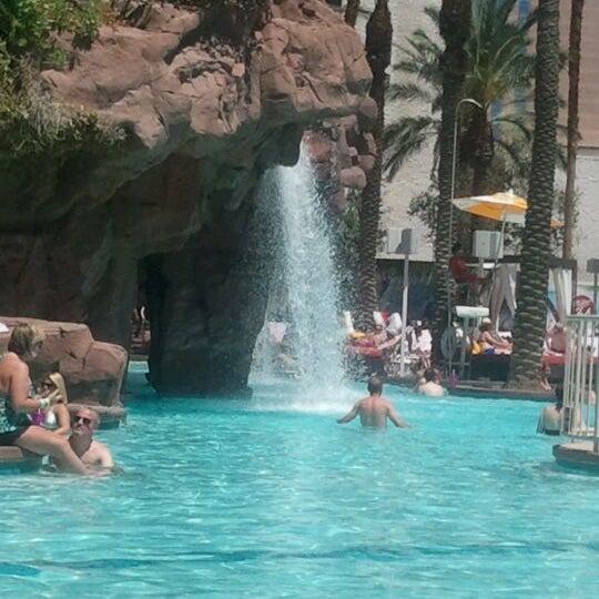 Photo taken at Flamingo GO Pool by Tyler B. on 5/14/2012