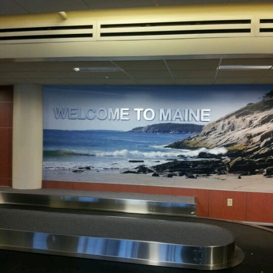 Photo taken at Portland International Jetport (PWM) by Brandy E. on 8/16/2012