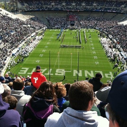 Photo taken at Beaver Stadium by Angela L. on 10/15/2011
