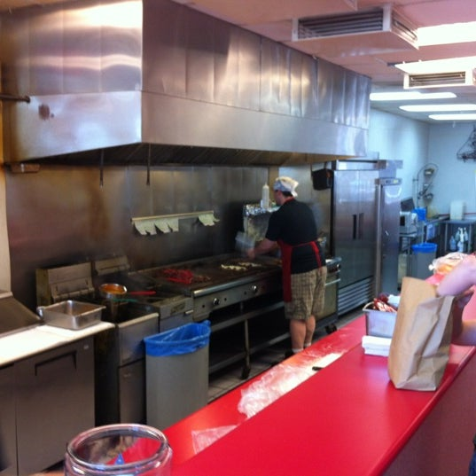 Photo taken at Amato's Cheesesteaks by Baby H. on 4/19/2012