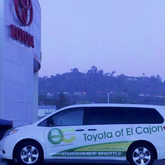 Photo taken at Toyota of El Cajon by Rebecca R. on 10/22/2011