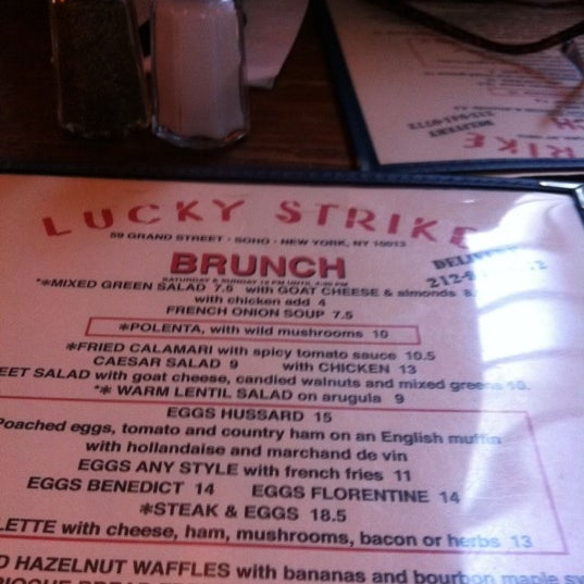 Photo taken at Lucky Strike by Beth L. on 1/28/2012